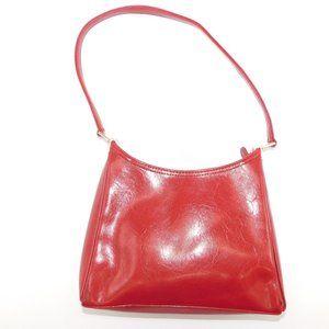 Liz Claiborne Red Patent Leather Handbag